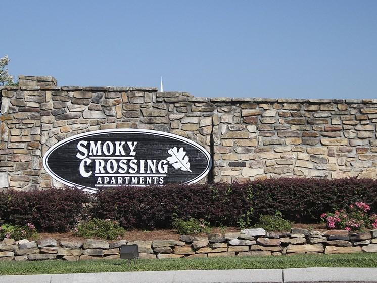 Exterior Sign Smoky Crossing