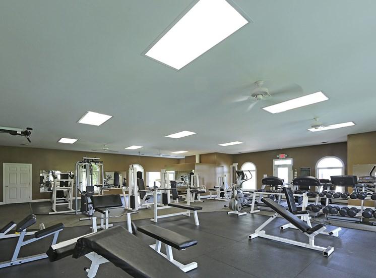 Interior Fitness Center