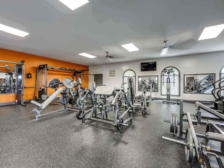 State Of The Art Fitness Facility at Smoky Crossing Apartments, Seymour, TN, 37865