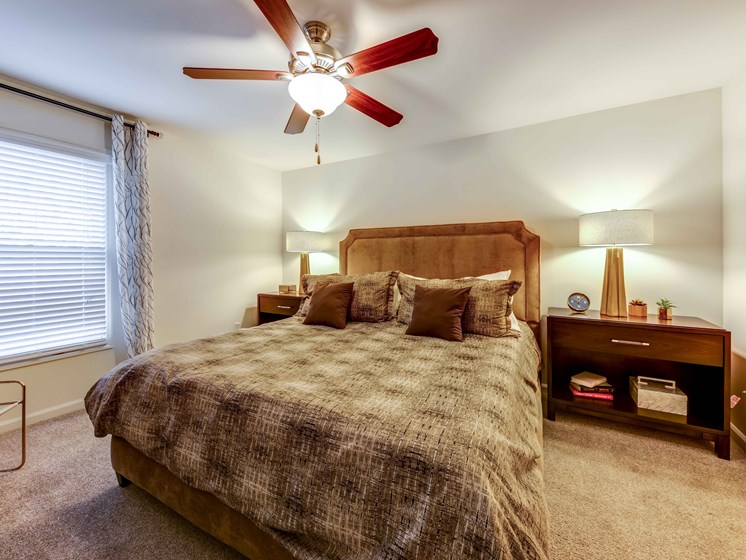 Large Comfortable Bedrooms at Smoky Crossing Apartments, Seymour, Tennessee