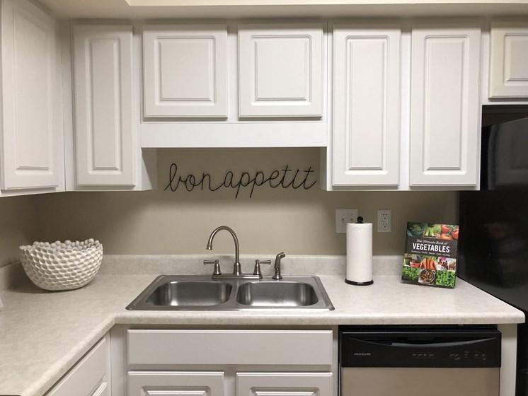 Kitchen Sinkwhite kitchen cabinets