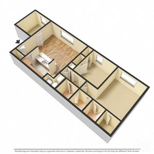 Ivy - 2 Bedroom with Den