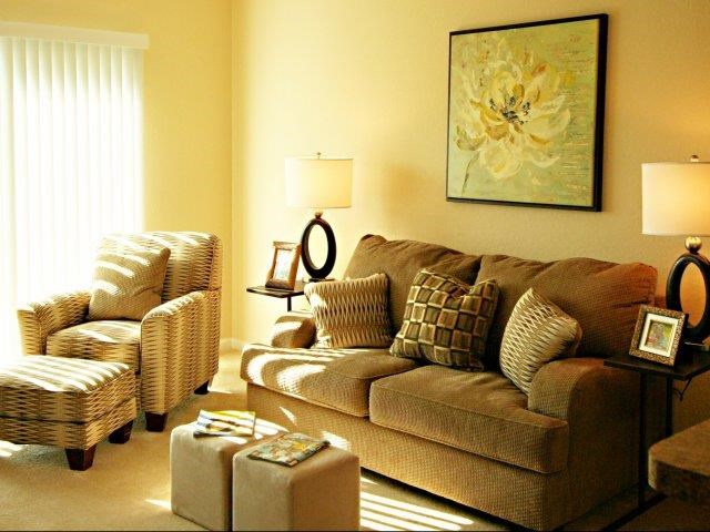 Relaxing Living Areas