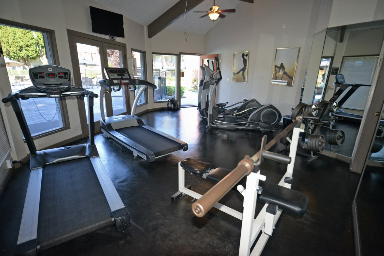 cardio and weights fitness center