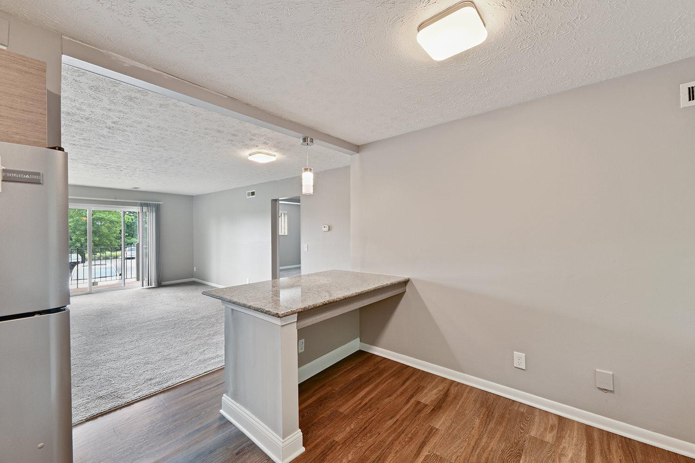 Specious Floor Plan at Heritage Hill Estates Apartments, Cincinnati