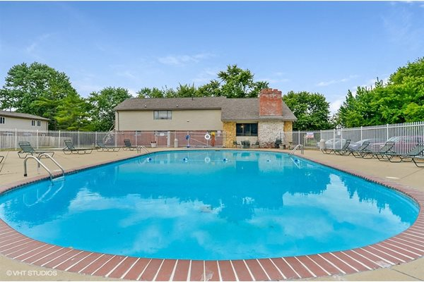 Resort-Style Zero-Entry Pool at Westpark Townhomes, Indianapolis, IN,46214