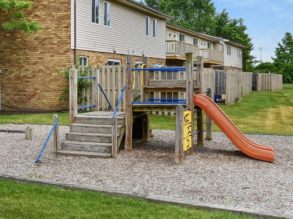 Play Area For Kids at Westpark Townhomes, Indianapolis, Indiana