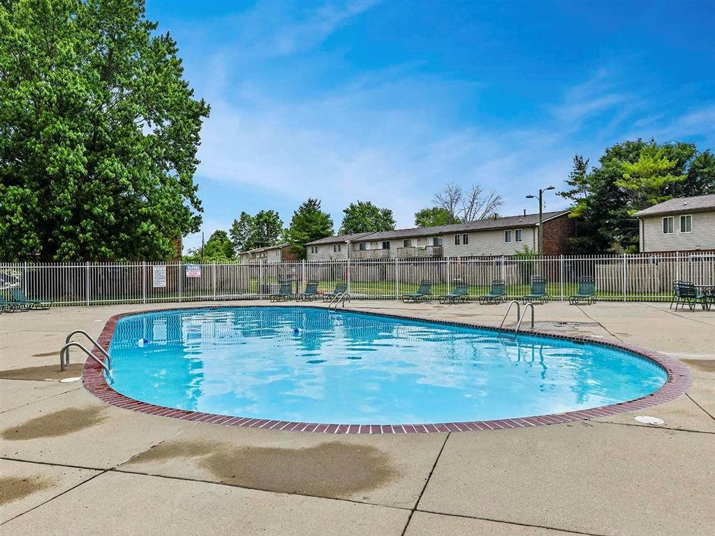 Refreshing Pool at Westpark Townhomes, Indiana