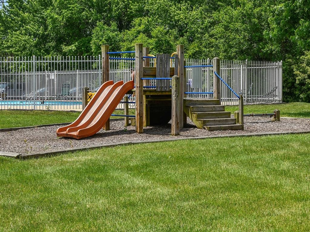 On Site Children's Playground at Westpark Townhomes, Indiana, 46214