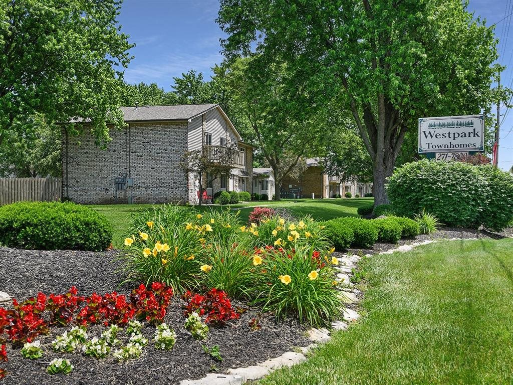 Blooming Gardens at Westpark Townhomes, Indianapolis, Indiana