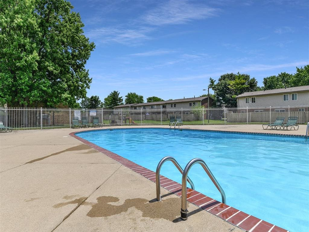 Resort Style Pool at Westpark Townhomes, Indianapolis
