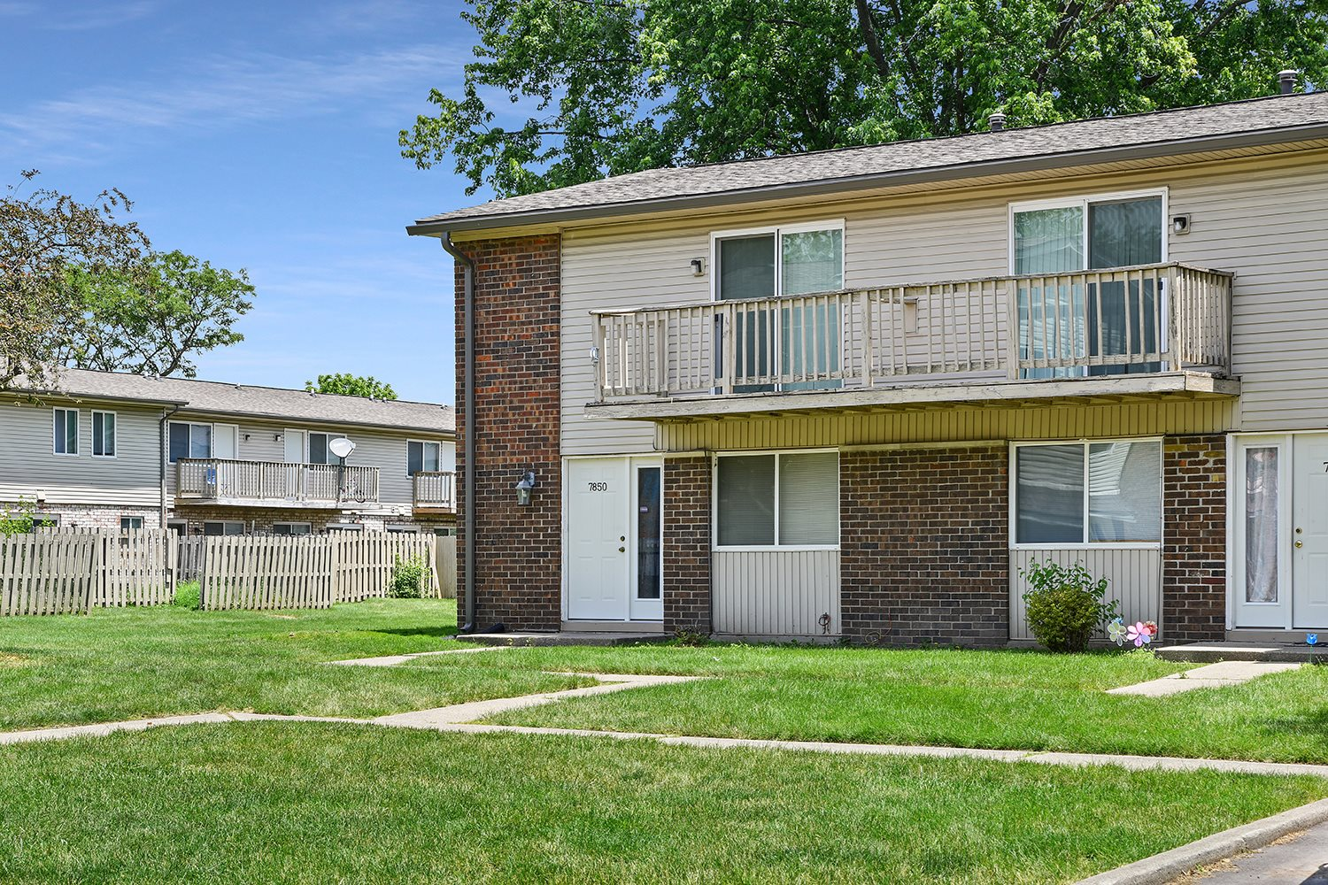 Lush Green Surrounding at Westpark Townhomes, Indiana, 46214