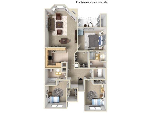 3x2g Floor Plan 5