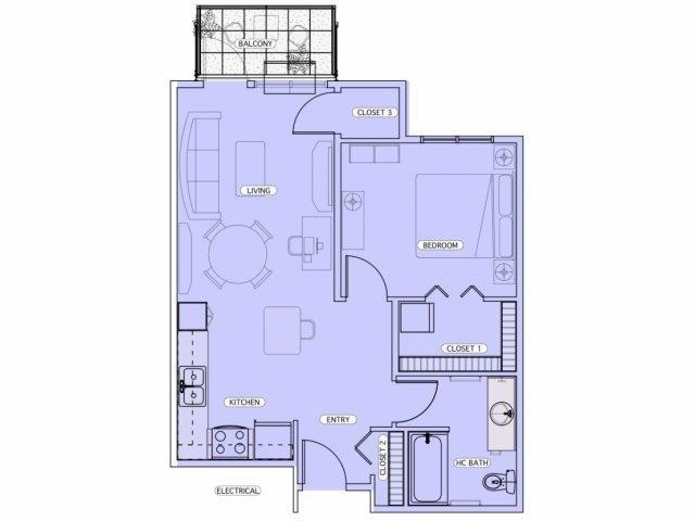 C2 Floor Plan 7