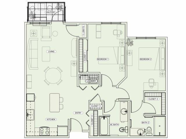 E1 Floor Plan 15