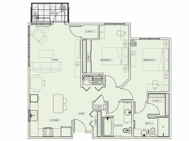 E2 Floor Plan 16