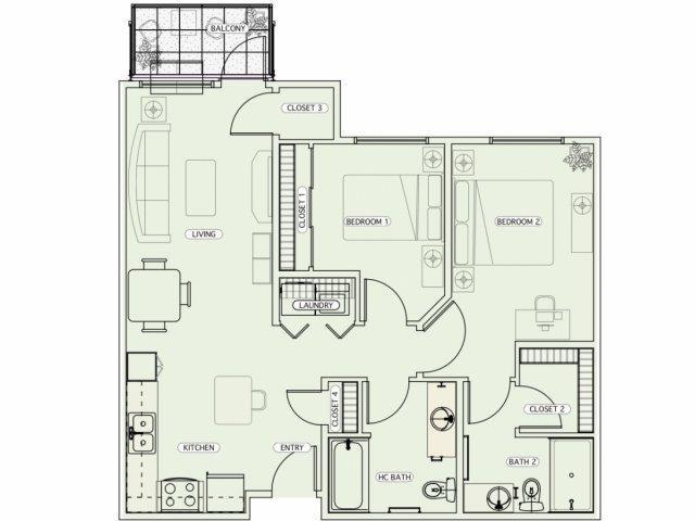F1 Floor Plan 17