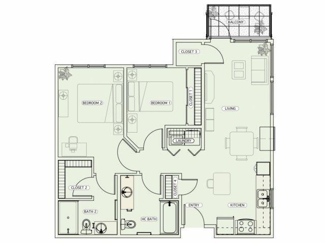 F2 Floor Plan 18