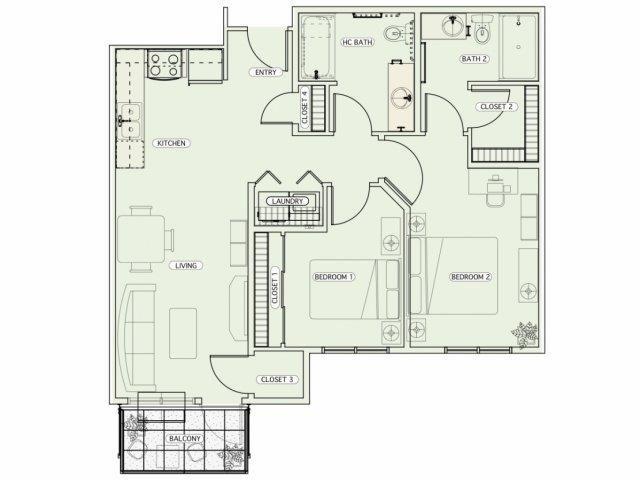 F3 Floor Plan 19