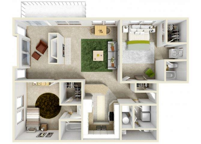 The Brighton Floor Plan 2