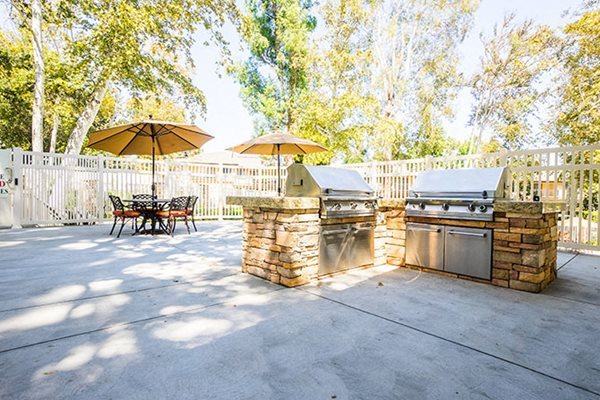 Apartments in Westlake Village BBQ Area