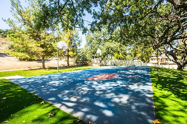 Apartments in Westlake Village Basketball Court
