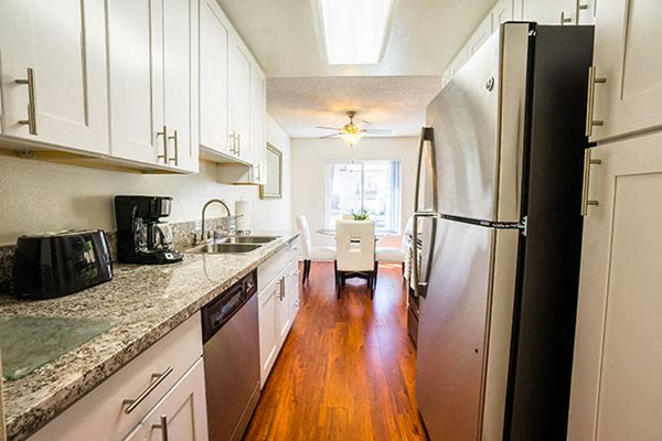 Apartments in Westlake Village Stainless Steel Appliances White