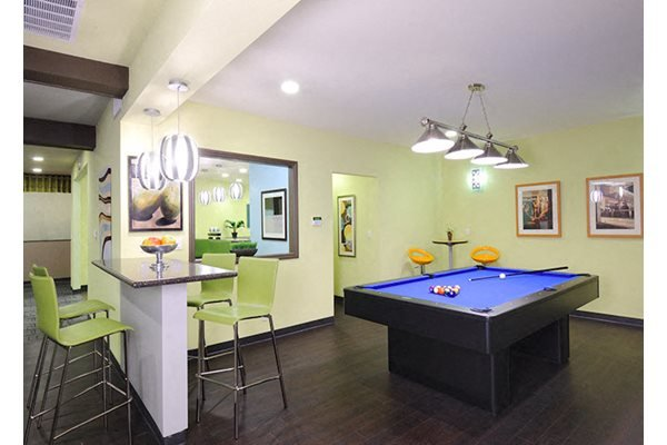 Westlake Village Apartments Resident Lounge Pool Table