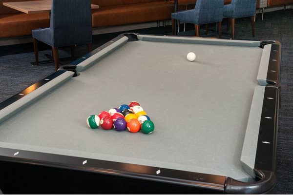 Game Room with Pool Table at The Axis, Plymouth, MN