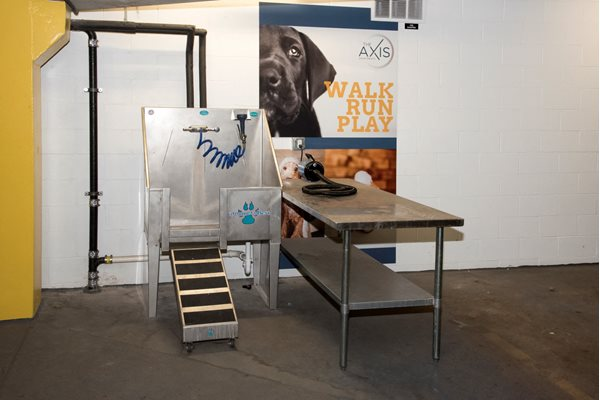 Pet Washing Station at The Axis