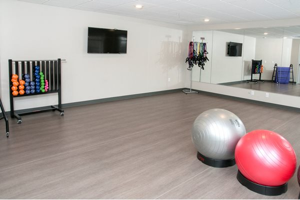 Fitness Center and Yoga Studio at The Axis, Minnesota