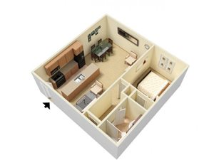 1 Bed Large