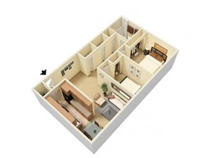 2 Bed Large