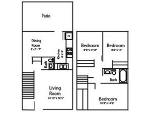 Three Bed with Basement