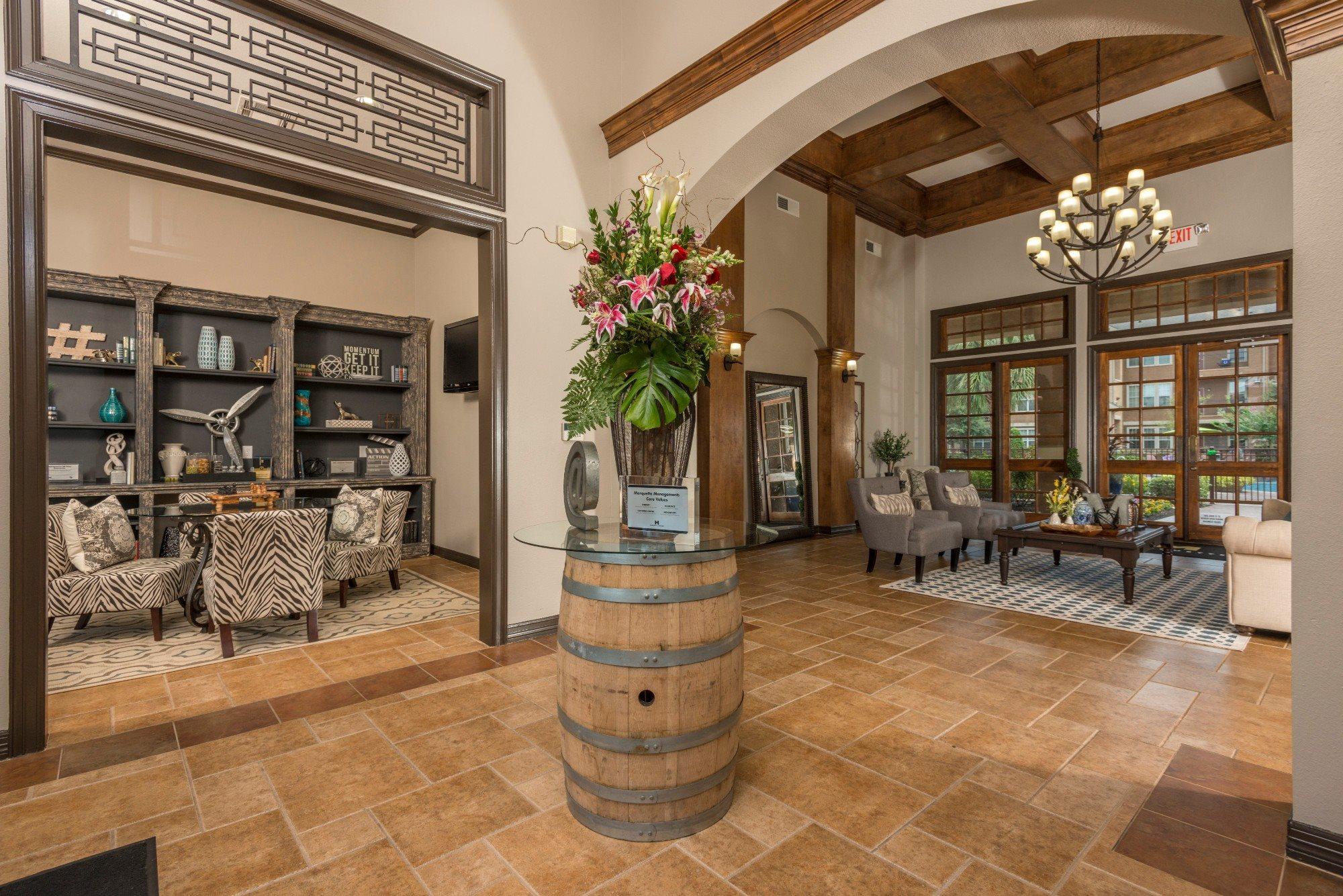 Apartments with Resident Clubhouse- Tiburon Houston