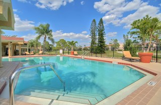 Sparkling Swimming Pool at Belvedere at Quail Run, Naples, FL,34105