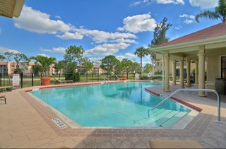 Resort Style Swimming Pool at Belvedere at Quail Run, Naples, FL,34105
