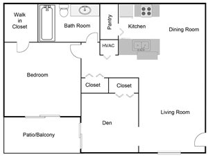 Inverness Floorplan at Belvedere at Quail Run