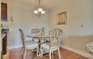 Separate Dining Area at Belvedere at Quail Run, Naples, FL,34105