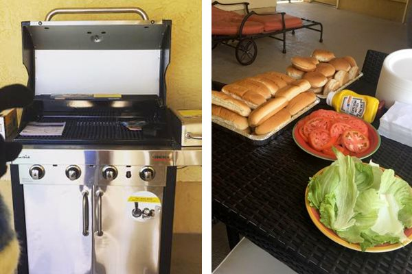 Belvedere at Quail Run Apartments in Naples, FL,34105 grilling stations on aqua deck