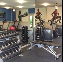 Free Weights at Belvedere at Quail Run, Naples, FL,34105