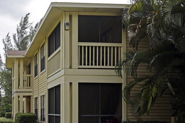 Belvedere at Quail Run Apartments in Naples, FL,34105 private, screened in lanai