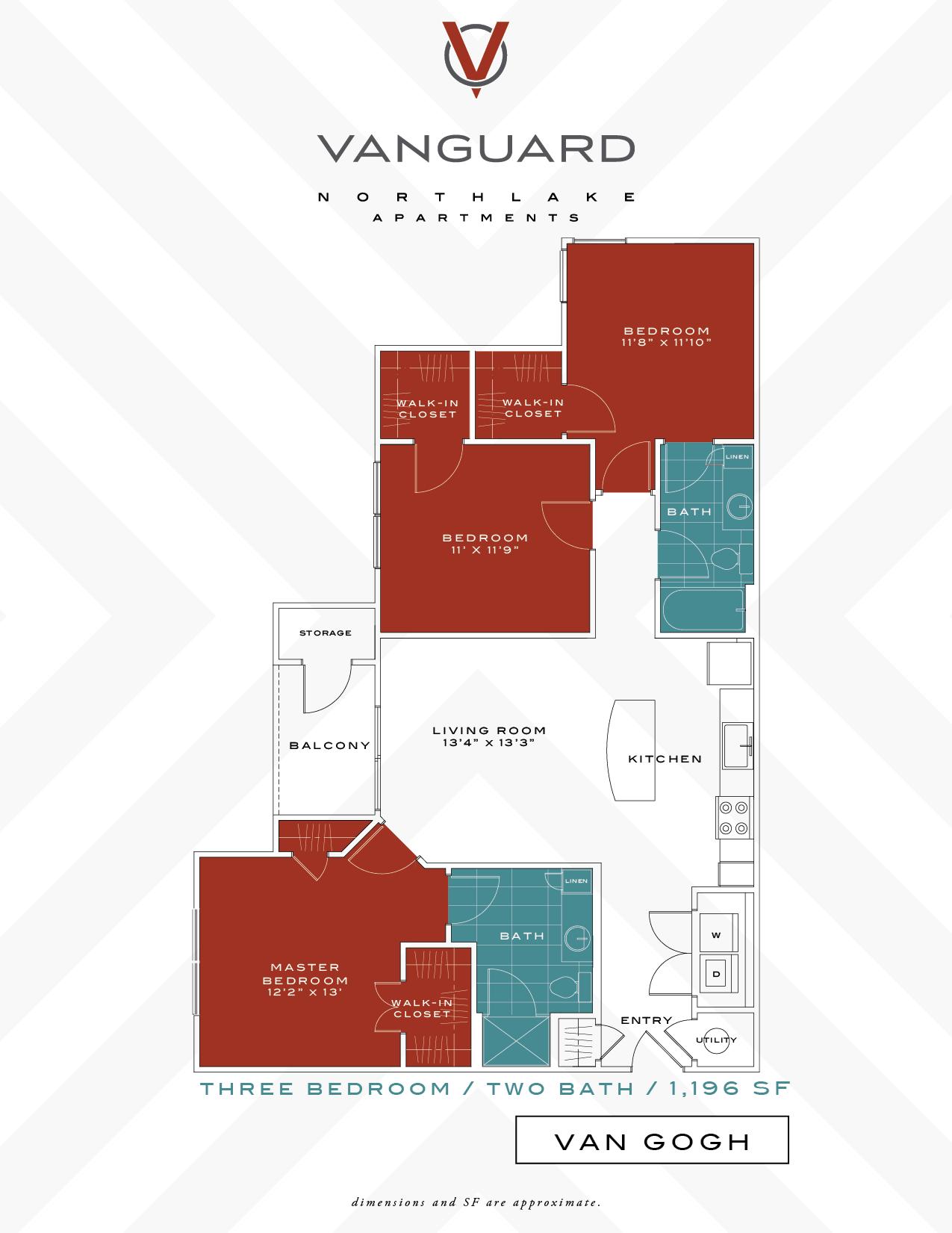 Van Gogh (3) Floor Plan 4