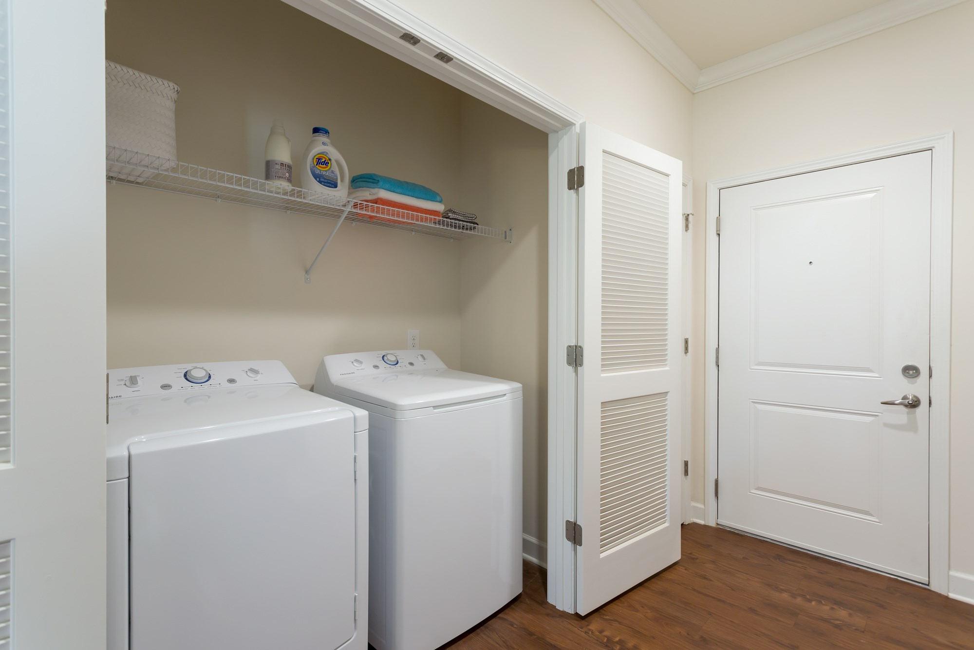 Laundry at Vanguard Northlake Apartments in Charlotte, NC