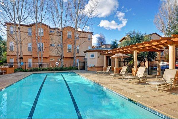 Pool Side Barbecue at Renaissance Apartment Homes, Santa Rosa, CA,95404