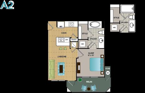 A2 Floor Plan 2