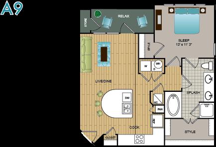 A9 Floor Plan 9
