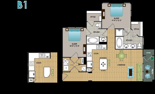 B1 Floor Plan 10