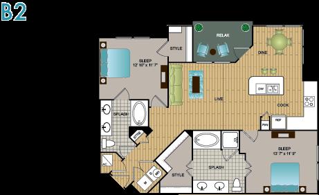 B2 Floor Plan 11