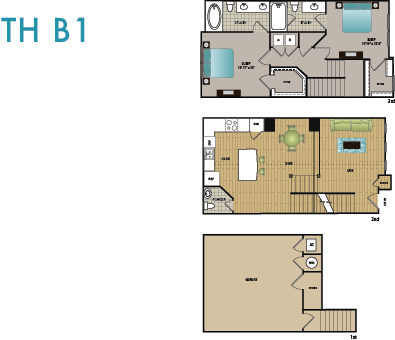 TH B1 Floor Plan 15